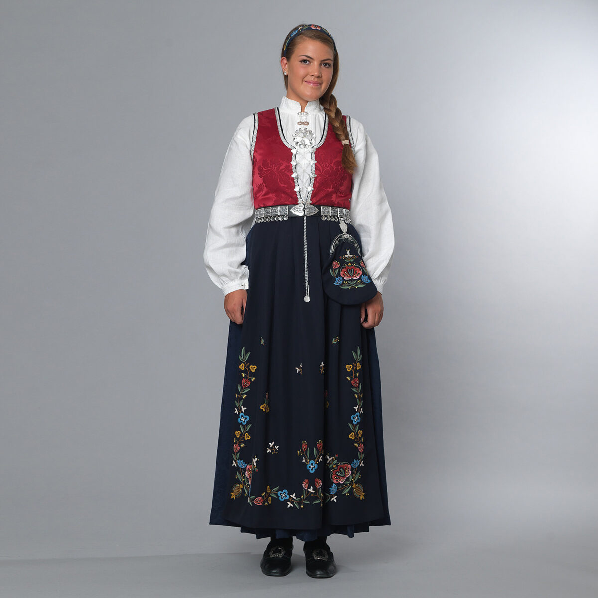 Rogalandsbunad Jelsa-91