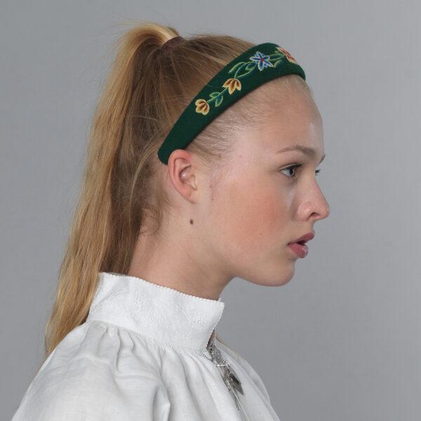 Nordland hårbøyle, grønn-0