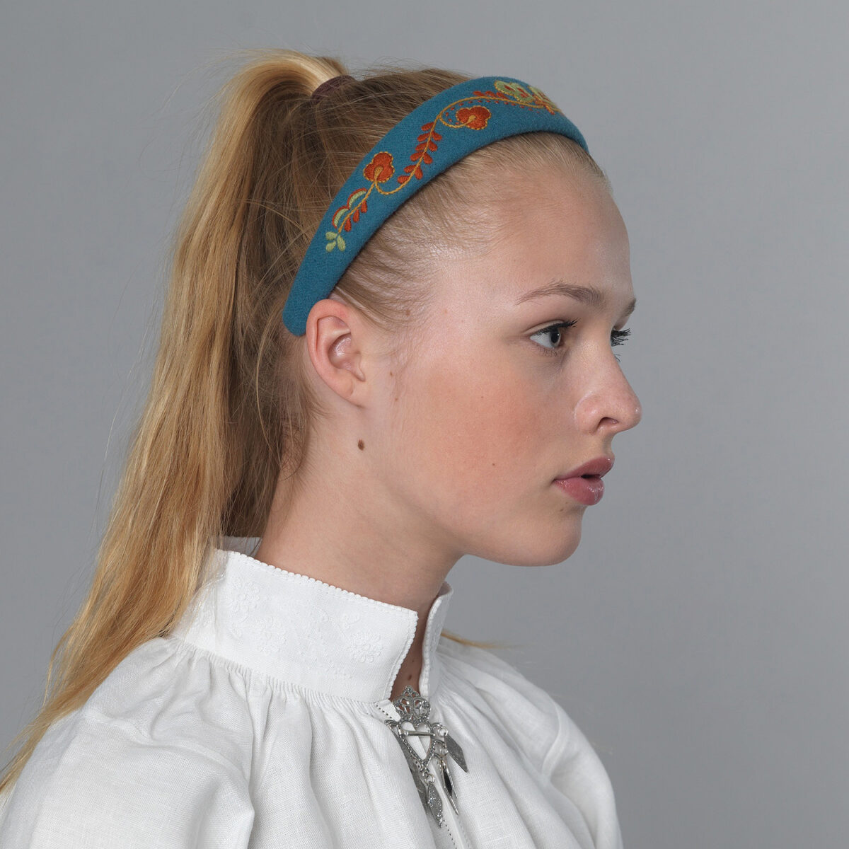 Vestfold hårbøyle - blå-0