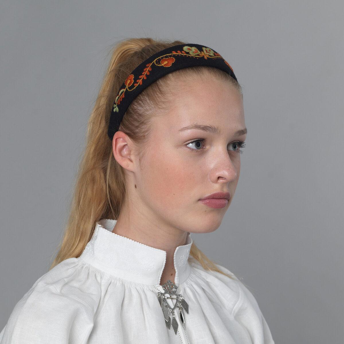 Vestfold hårbøyle - sort-0