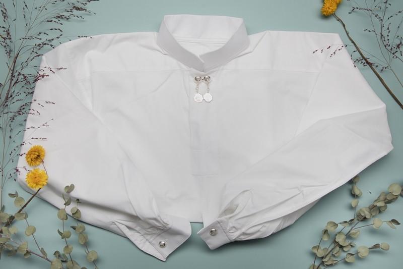 Bomullsskjorte, nøytral-1058