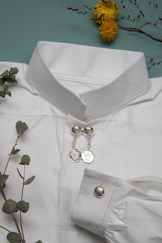 Bomullsskjorte, nøytral-1060