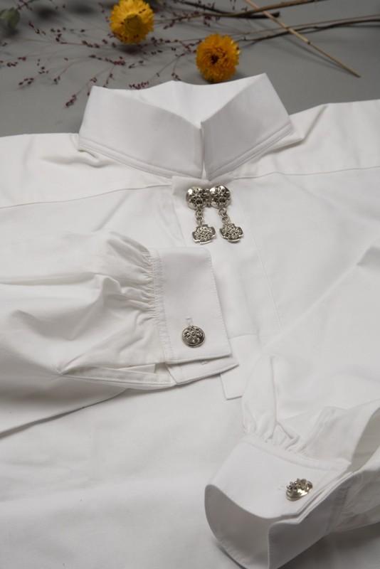 Bomullsskjorte, nøytral-0