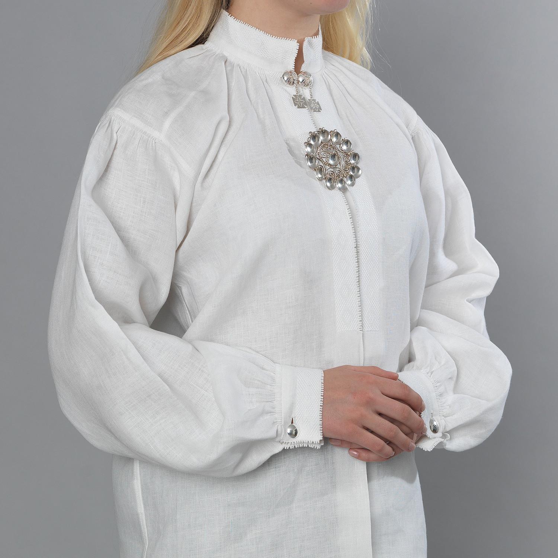 Rogaland linskjorte Embla Bunader