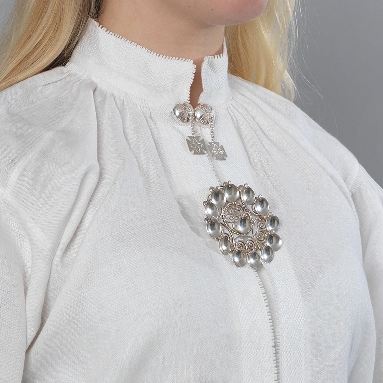Bunadskjorte linskjorte til Rogalandsbunad | Barnebutikk på
