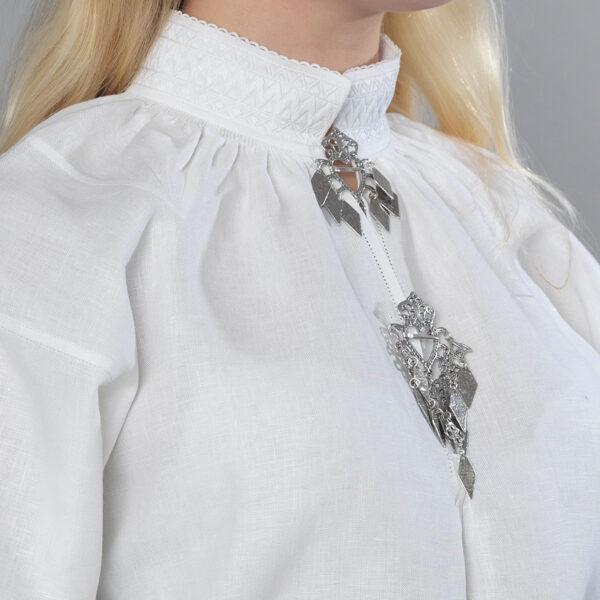 Romerike linskjorte, sikksakk-0
