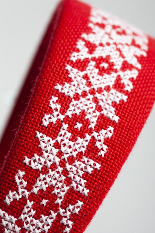 Hardanger, rød-885