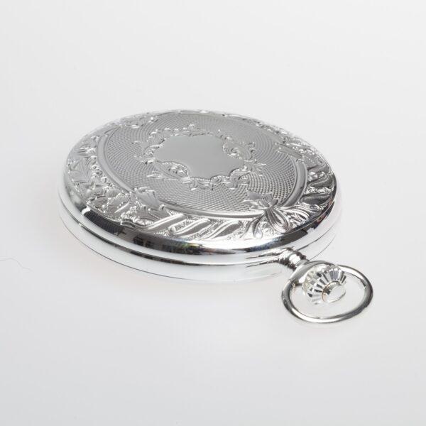 Lommeur herre, sølv-0